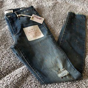 Brand New Jessica Simpson Distressed Skinny Jeans